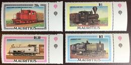 Mauritius 1979 Railway Trains MNH - Mauricio (1968-...)