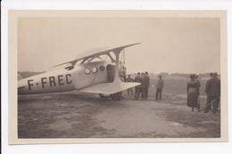 PHOTO 83 AVIATION  ST RAPHAEL AVION Entouré De Personnes (Ban De Frejus St Raphaêl?) Ou (Aerodrome Cannes Mandelieu - 1919-1938: Fra Le Due Guerre