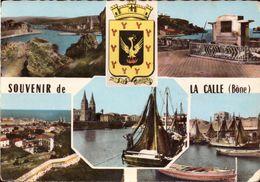 Algerie, La Calle, Carte, Calendrier, Photos, Lot De 4 Documents    (bon Etat) - Altre Città