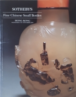 Catalogo Sotheby's - Chinese Snuff Bottles - Tabacco Da Fiuto Ed. Novembre 1995 - Books, Magazines, Comics