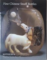 Catalogo Sotheby's - Chinese Snuff Bottles - Tabacco Da Fiuto Ed. 2 May 1996 - Books, Magazines, Comics