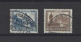 ALLEMAGNE.  YT  N° 433-434  Obl   1930 - Deutschland