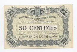 CHAMBRE DE COMMERCE D EPINAL   50 Centimes 1920 COMMME NEUF - Chamber Of Commerce