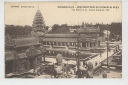 ASIE - CAMBODGE - EXPOSITION COLONIALE DE MARSEILLE 1922 - Vue Générale Du Temple D'Angkor Vat - Cambodia