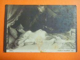 CPA Inédite Non écrite - Adolphe WEISZ Otello Othello Shakespeare - Harem Slave Esclave Captive - Tableaux