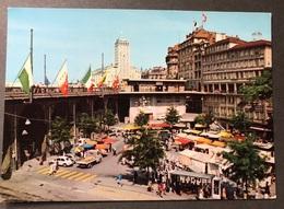 Lausanne Le Marché Sous Le Grand Pont/ Oldtimer Autos - VD Waadt