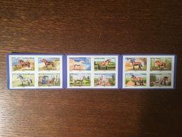 2013 FRANCE CARNET 813 A 824 CHEVAUX DE TRAIT - Booklets