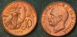 M_p> Regno Vitt Eman III° 10 Centesimi 1930 APE, ALTA Conservazione Per Il Tipo Di Moneta - 1900-1946 : Victor Emmanuel III & Umberto II