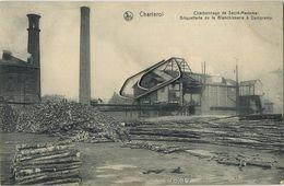 Charleroi  :  Charbonnage De Savré-Madame   (  Ecrit 1912 Avec Timbre ) - Charleroi