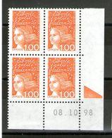 CD N°3089**_8/10/98_repère D'encrage - 1990-1999