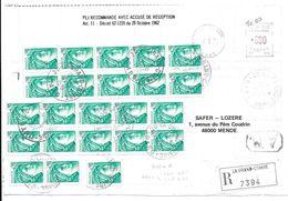 LA GRAND COMBE 1978 MENDE BLOCS REC 7394 INVENTAIRE PARCELLES ST GERMAIN DE CALBERTE - Documents Historiques