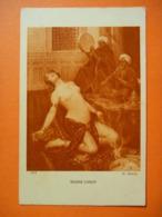 CPA Non écrite -   Gaston GUEDY Griseries D'Orient   - Danseuse Harem Slave Esclave Captive - Tableaux