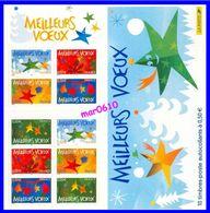 2004 - Meilleurs Voeux - BC 44 (BC 3722) - Neuf** - Booklets