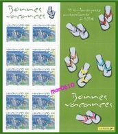 2004 - Bonnes Vacances - BC 42 (BC 3672) - Neuf** - Booklets