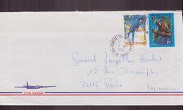 Polynésie, Enveloppe Du 4 Novembre 1991 De Tahiti Pour Paris - Polynésie Française