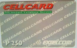 250 Pesos  Extelcom Cellcard - Philippines