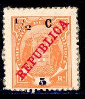 ! ! Mozambique Company - 1916 Elephants Coat Of Arms 1/2 C - Af. 93 - MH - Mozambique