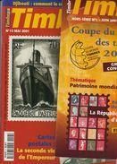 Lotto Dei Primi 15 Numeri Della Rivista TIMBRES MAGAZINE + FUORI SERIE 1 - Magazines