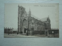 Cpa AMIENS Eglise Sainte-Jeanne D'Arc - Amiens