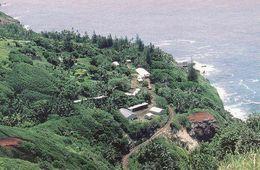 Pitcairn Islands, Adamstown, The Original Home Of The Mutineers, Airview, Unused - Pitcairn