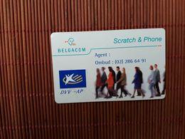 Sratch & Phone Assurance  DVV 01/01/2000 2 Scans Rare - Belgique