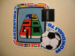 1978 CAMPIONATI MONDIALI DI CALCIO AGENTINA  ADESIVO ORIGINALE  NUOVO - Vieux Papiers