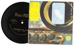 Disque 45 Tours - Vinyle Souple - Lessive DISCO PAIC - Gilbert Bécaud - L'important C'est La Rose - 1968 - Unclassified