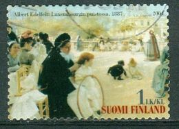 Bm Finland 2004 MiNr 1707 Used | From The Luxembourg Gardens (Albert Edelfelt) - Finland