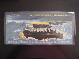 TB B.F. Souvenir N°114 : 70° Anniversaire Du Débarquement, Sous Blister, Neuf XX. - Bloques Souvenir
