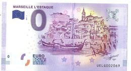 2017 BILLET TOURISTIQUE 0euros   13  Marseille L'estaque Port 1.50   Ne Pas Se Fier A La Numerotation  Epuise - Essais Privés / Non-officiels