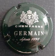 Capsule Champagne Germain Vert Foncé Et Argent - Germain