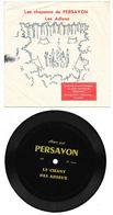 Disque 33 Tours - Vinyle Souple - Les Chansons De PERSAVON - Le Chant Des Adieux - Unclassified