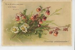 "FLEURS - Jolie Carte Fantaisie Fleurs ""Tu As Du Prix à Mes Yeux Et Je T'aime - Heureux Anniversaire "" CATHARINA KLEIN - Klein, Catharina"