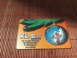 Christmas Xl-Call Promo (Mint,Neuve)  2 Scans Rare - Belgique