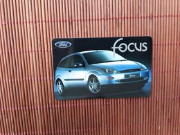 Phone Pass Ford Focus Belgacom 30/11/99 (Mint,Neuve) 2 Scans Rare - Belgique
