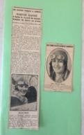 Article De Journal - L'Aviatrice Française Maryse Bastié à Battu Le Record Du Monde Féminin 1929 - Documents Historiques
