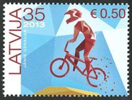 LETTONIE Course Cycliste 2013 1v Neuf ** MNH - Latvia