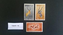1958 Italiaans Somaliland Luchtpostzegels Antilopen - Somalia