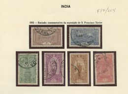 Used Stamps, Lot, India, 1931, Emissão Comemorativa Da Exposição De S. Francisco Xavier   (Lot 405) - Inde Portugaise