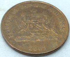 Moneda 2005. 1 Céntimo. Trinidad Y Tobago. KM 29. MBC - Trinité & Tobago