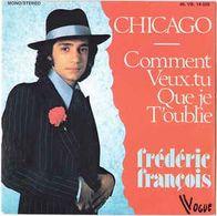 Disque 45 Tours FREDERIC FRANCOIS - 1975 Vogue 45.VB 14.025 - 2 Titres - Disco, Pop