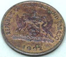 Moneda 1992. 5 Céntimos. Trinidad Y Tobago. KM 30. MBC - Trinidad En Tobago