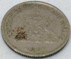Moneda 1977. 10 Céntimos. Trinidad Y Tobago. KM 31. MBC - Trinité & Tobago