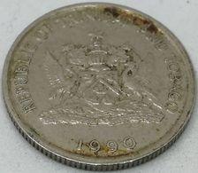 Moneda 1990. 10 Céntimos. Trinidad Y Tobago. KM 31. MBC - Trinité & Tobago