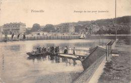 Trouville (14) - Passage Du Bac Pour Deauville - Trouville