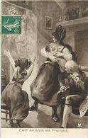 Guerre 1914-18-militaires-militaria -ref M305- Illustrateurs -illustrateur -en Alsace - Ciel !- Ce Sont Les Francais - - Guerra 1914-18