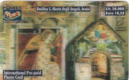 ITALY - Basilica S.Maria Degli Angeli/Assisi, Planet 3D Prepaid Card L.20000/10.33 Euro, Exp.date 30/06/01, Mint - Italie