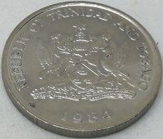Moneda 1984. 25 Céntimos. Trinidad Y Tobago. KM 32. EBC. Excelente Buena Conservación - Trinité & Tobago