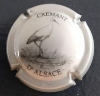Capsule Crémant D'Alsace: Cigogne - Placas De Cava