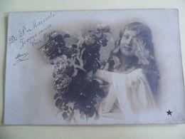 De St Maixent , Je Vous Envoie Ces Fleurs - 1906- Série N°814 - RARE - Saint Maixent L'Ecole
